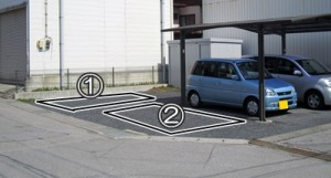 普通・大型自動車駐車場